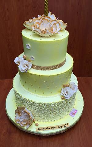 Of a lifetime of Togetherness  - Cake by Michelle's Sweet Temptation