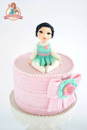 My Daughter Lucia's First Cake - Cake by SweetLin