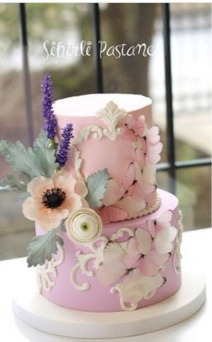 Butterfly Cake - Cake by Sihirli Pastane
