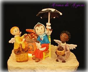 Mariuca la castañera Children´s classic books sweet collaborations - Cake by Aroma de Azúcar