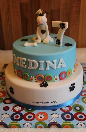 Dog cake - Cake by Adéla