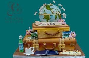 Around the World Cake - Cake by Caramel Doha