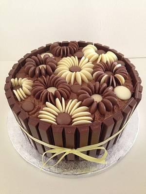 Chocolate Flower Cake - Cake by Sadie Smith