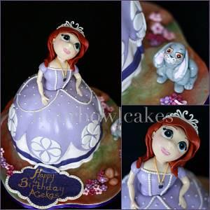 Princess Sofia - Cake by Flourbowl Cakes