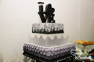 Love - Cake by Meganlicious Cakes