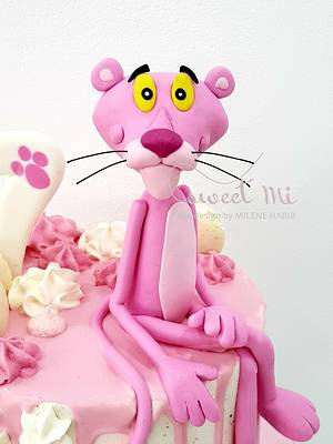Pink panther - Cake by Milene Habib