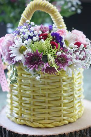 Mother's Day Basket----Or Is It? - Cake by Margie
