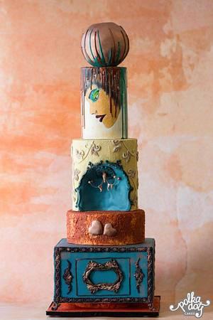 Mystique - Cake by KAkesbykomal