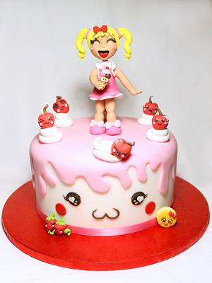 Complete Tutorial Kawaii Doll Cake Topper  - Cake by Isabella Coppola di Milky Way