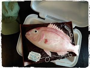 Good fish catch!!! - Cake by My Sweet World_Elena
