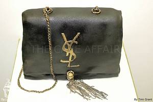 YSL Bag - Cake by Designer Cakes By Timilehin
