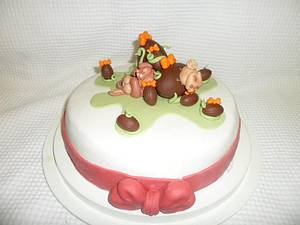 Easter bunny - Cake by Alessia's Wonder Cakes