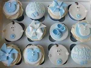 Baby  boy Cupcakes - Cake by Mrsmurraycakes