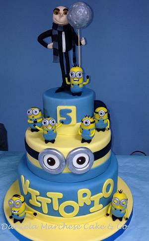 Despicable Me Cake - Cake by Daniela Marchese