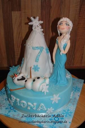 Frozen cake - Cake by Adéla