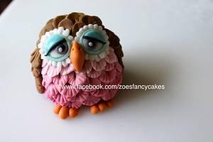 Owl tutorial  - Cake by Zoe's Fancy Cakes