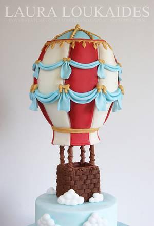 Hot Air Balloon Cake - Cake by Laura Loukaides