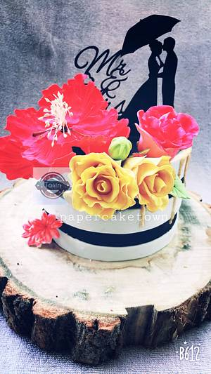 Wedding cake  - Cake by sheenam gupta