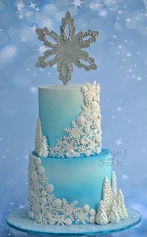 Frozen Cake!!  - Cake by Hima bindu