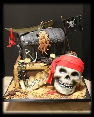 Arrr! - Cake by Sandrascakes