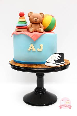 Baby toy cake - Cake by Cuppy & Cake