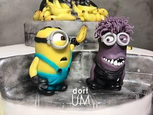 Minions cake - Cake by dortUM