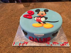 Mickey Mouse Birthday Cake - Cake by Rencia's Creations