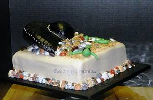 UFO or UBO - Unidentified Birthday Object - Cake by Sweets By Monica
