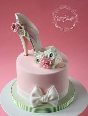 Bridal Shower Cake - Cake by Amanda's Little Cake Boutique