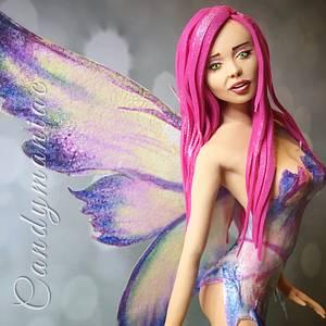 Fairy  - Cake by Mania M. - CandymaniaC