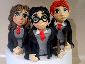 Potter Friends - Cake by Donatella Bussacchetti
