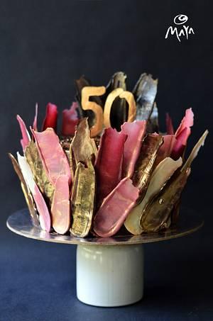 50th birthday - Cake by Abha Kohli