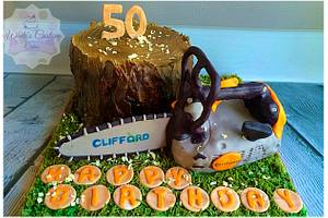 Woodsman Cake - Cake by Sabrina - White's Custom Cakes