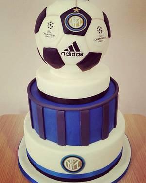 Pazza Inter amala!!! - Cake by Valeria Antipatico