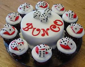 Bunco Fun! - Cake by Stephanie Dill
