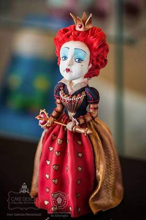 Queen of Hearts  - Cake by Jane Hudson