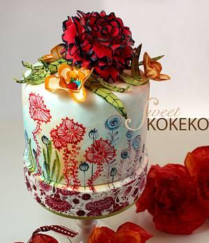 Spring Cake - Cake by SweetKOKEKO by Arantxa
