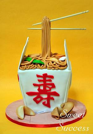 Chinese Noodles Cake - Cake by Sweet Success
