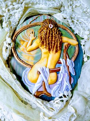 Dentro del espejo - Cake by Yolanda