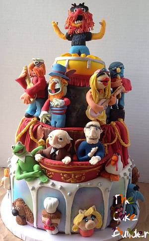 Muppets cake - Cake by Julie