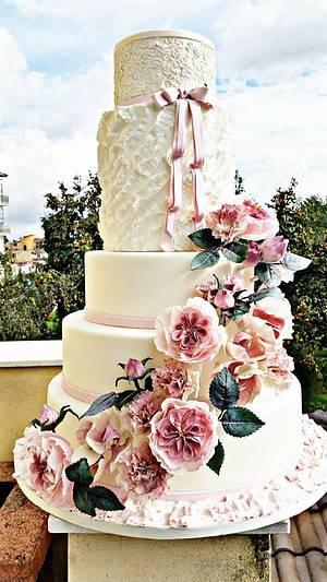 wedding  - Cake by ANTONELLA VACCIANO