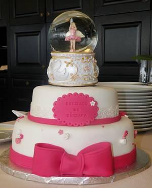 Baptism cake - Cake by bolosdocesecompotas
