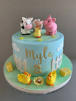 Day at the farm - Cake by Penny Sue