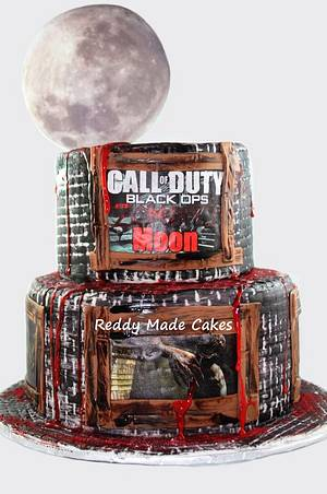 Call of Duty: Zombies - Cake by Crystal Reddy