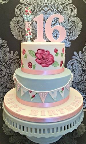 Sweet Sixteen - Cake by Corleone
