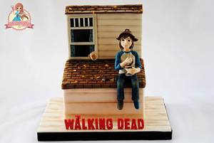 Pudding On The Roof - Baking Dead Collaboration - Cake by SweetLin