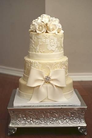 Winter wedding cake - Cake by Danika
