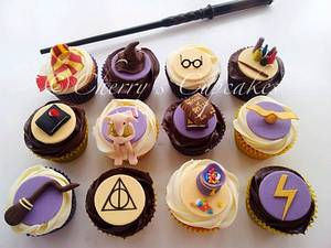 Harry Potter Cupcakes - Cake by Cherry's Cupcakes
