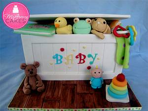 Baby Toy Box - Cake by Shawna McGreevy