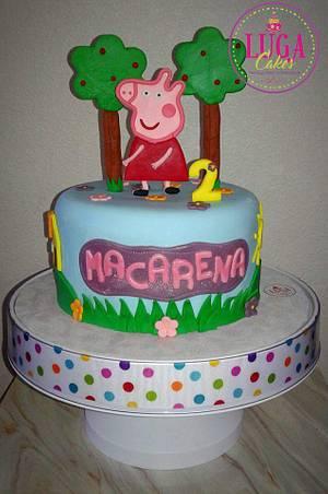 Peppa Pig 2D - Cake by Luga Cakes
